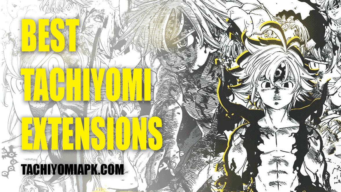 Tachiyomi best extensions